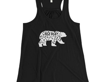 Mama Bear Shirt - Tank Top - Expecting Mom Gift - Muscle Tank Women - Workout Tanks For Women - Mama Bear - New Mom Gift - Gift For Mom