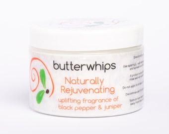 Naturally Rejuvenating Organic Body Butter