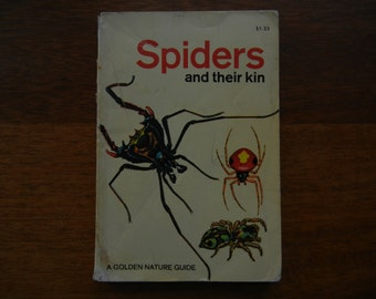 A Golden Guide ~ Spiders and their Kin ~ 1968