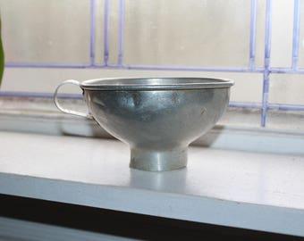 Tin Canning Funnel Antique Farmhouse Decor