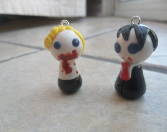 True Blood's Eric and Bill Pawn Charms