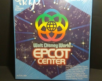 NIB 1982 Walt Disney World Epcot Center Puzzle