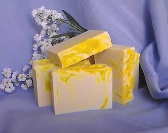 Lemon Verbena Goat Milk Soap Bar Vegetarian
