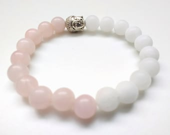 White Onyx Rose Quartz