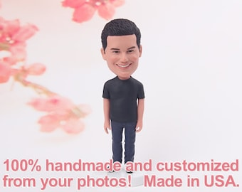 Christmas gift ideas - Personalized gifts for him - Gifts for husband - Custom bobblehead - Home Decor