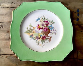 Royal Winton Grimwades dinner plate made in England, vintage china