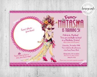 Brand new Fancy nancy party | Etsy SP36