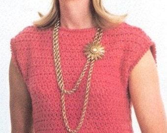 DRESS - Crochet Boatneck Dress Pattern