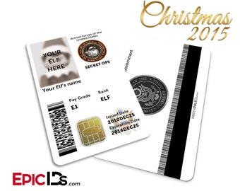 Secret Ops / US Military Santa's Elf ID by Epic IDs