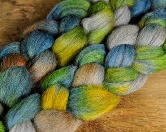 Corriedale Wool Top - 'Gaia Theory'