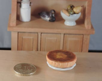 A classic French pastry family: flan