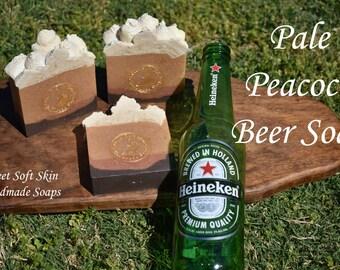 Pale Peacock Beer Soap