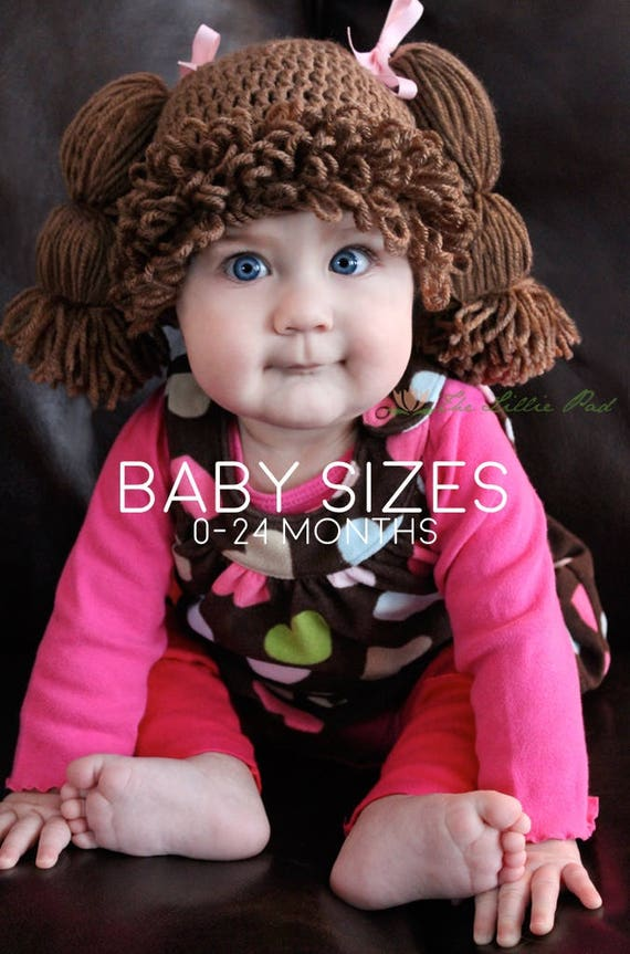 Cabbage Patch Wig Hat Cabbage Patch Kid Wig For Baby