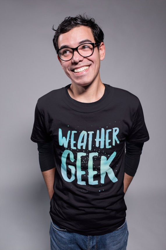 Gifts for people who love weather  Weather Geek Short Sleeve Unisex TShirt   gifts for meteorologists