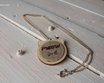 Necklace: Meow - Meow