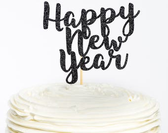happy new year cake topper new year cake topper new year topper new