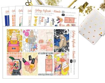 Spring Refresh Kit | Planner Stickers
