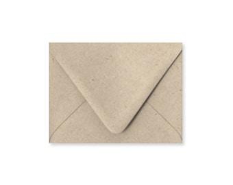 Kraft A6 Envelopes, 6.5x4.75 Envelopes, Paper Source Pointed Flap Envelopes, sold in sets of 10