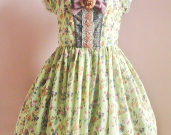 A Song For Flowers - Calanthe Lolita Dress