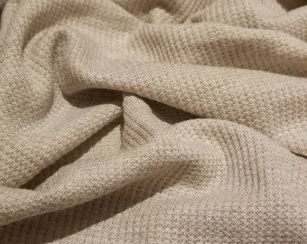 Rayon spandex waffle weave thermal