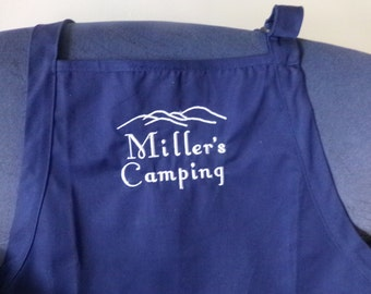 Custom Embroidered Apron, You choose wording