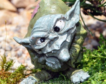 Ollie the Troll for Miniature Garden, Fairy Garden