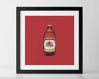 Canada 150 Stubby Beer Bottle