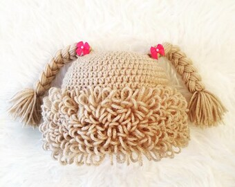 Cabbage Patch Inpired Hat