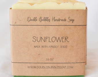 Handmade Soap - Sunflower