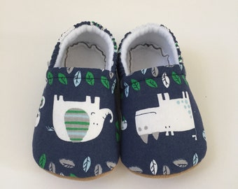 Animal booties, slippers, crib shoes, shoes