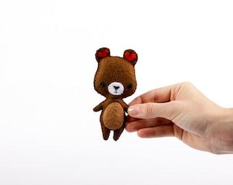 Pocket-Bear Handmade Soft Toy Plushie