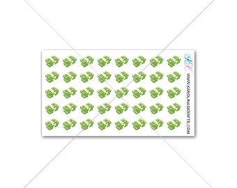 Itty Bitty Money Stack! Itty Bitty Planner Stickers, Sew Much Crafting Stickers, Pay Day stickers  #SQ00630