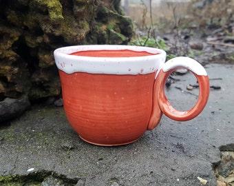 Coffee mug pottery Mother gift Coffee mug handmade Ceramic mug handmade Pottery mug Ceramic coffee Mug Red mug Ceramic mug handmade Clay mug