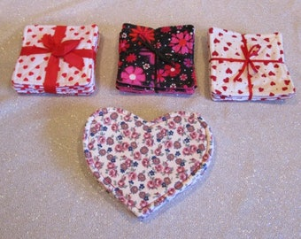Valentine Coaster sets