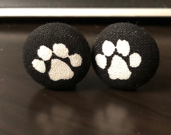 Puppy Paws clipon earrings