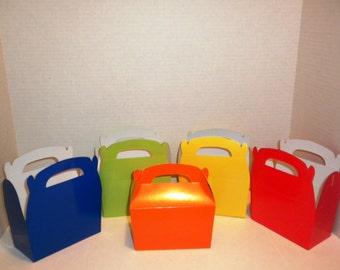 10 Gable Boxes-Gift Boxes, Gable Boxes, Gable, Box, Gifts, Baby Showers,Weddings, Parties, Bridal Showers, Wedding Showers, Party Favor Box