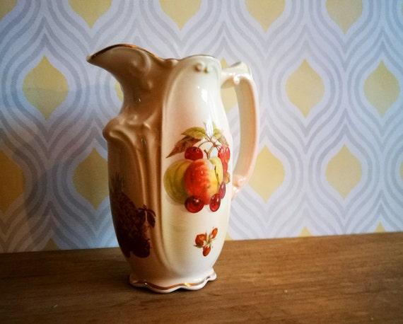 Royal Worcester jug Vintage Royal Worcester creamer Royal