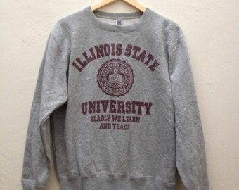 Vintage Illinois State University Sweatshirt - Size M