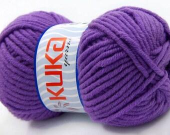 Pack of 4 Merino Luxury Bulky Chunky  Yarn