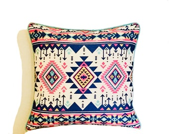 """Aztec Summer Water Resistant Large Outdoor Scatter Garden Furniture Cushion 19""""   Free UK Delivery"""