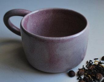 Handmade Ceramic Cup, Handmade Pottery Mug, Handmade Stoneware Cup