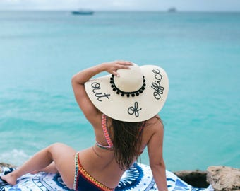 Out of Office Women's Floppy Sun Hat
