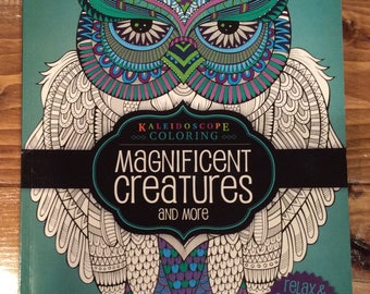 Kaleidoscope Coloring - Magnificent Creatures and More - New