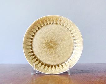 Vintage Nissen Relief Danish Modern Small Plate IHQ/JHQ