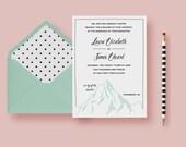 Simple Mountain Wedding I...