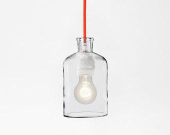 Neon Orange Pendant Lamp