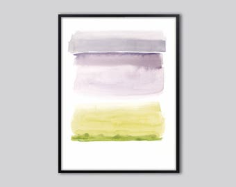 Watercolor abstract painting, last minute Gifts, Downloadable print, Gift for her, large modern print, PRINTABLE wall art