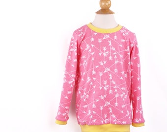 Appliquéd Baby Clothes, Arrow Pullover, Pink Clothes, Arrows, Toddler Girl Clothes, Free Shipping, Size 2T
