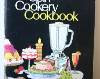 Osterizer Blender Spin Cookery Cookbook 1972 Retro Cook Book Kitchen Book