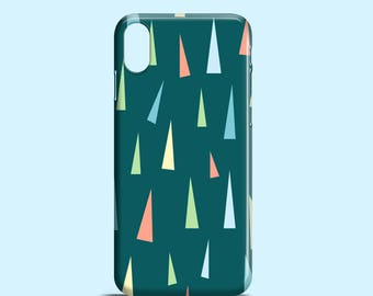 Pastel triangles phone case / iPhone X / iPhone 8 / pastel iPhone 7 / iPhone 7, 8 Plus / iPhone 6/6S / iPhone 5/5S, SE / Samsung S7, S6, S5